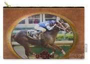 Smarty Jones Carry-all Pouch by Betty LaRue
