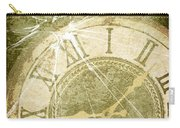 Smashed Clock Face Carry-all Pouch