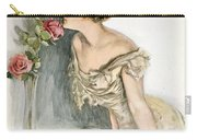 Smelling The Roses Carry-all Pouch