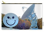 Smiley And 26 West Antennas Carry-all Pouch