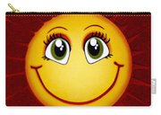 Smiley Sun Carry-all Pouch