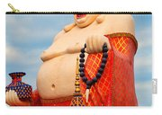 smiling Buddha Carry-all Pouch by Adrian Evans