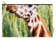 Smiling Giraffe Carry-all Pouch