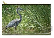 Smiling Heron Carry-all Pouch