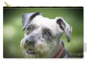 Smiling Schnauzer Carry-all Pouch