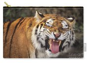 Smiling Tiger Endangered Species Wildlife Rescue Carry-all Pouch