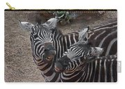 Smiling Zebras Carry-all Pouch