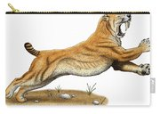 Smilodon Saber-toothed Tiger Carry-all Pouch