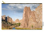 Smith Rock And The Crooked River Carry-all Pouch