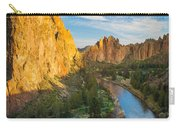 Smith Rock River Bend Carry-all Pouch by Inge Johnsson