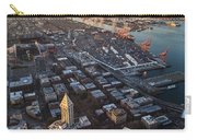 Smith Tower And West Seattle Carry-all Pouch