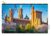 Smithsonian Castle Carry-all Pouch by Inge Johnsson