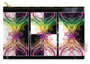 Smoke Art Triptych Carry-all Pouch