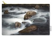 Smokey Mountain Stream In Autumn No.11 Carry-all Pouch