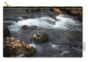 Smokey Mountain Stream In Autumn No.2 Carry-all Pouch