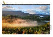 Smokies At Sunrise Carry-all Pouch