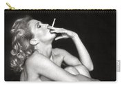 Smoking Nude  Carry-all Pouch