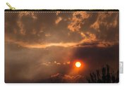 Smoky Clouds Over The Rogue Valley Carry-all Pouch