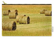 Smoky Mountain Hay Carry-all Pouch by Frozen in Time Fine Art Photography