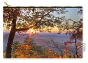 Smoky Mountain High Carry-all Pouch by Debra and Dave Vanderlaan