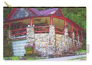 Old Log Cabin - Smoky Mountain Home Carry-all Pouch