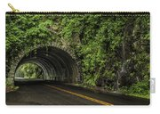 Smoky Mountain Tunnel In The Rain E123 Carry-all Pouch