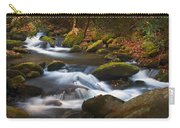 Smoky Mtn Autumn Stream Carry-all Pouch