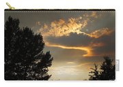 Smoky Summer Afternoon Sky Carry-all Pouch