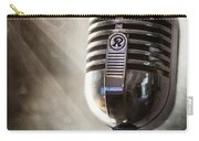 Smoky Vintage Microphone Carry-all Pouch