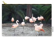 Smudgestick Flamingos Carry-all Pouch