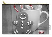 Snack For Santa Carry-all Pouch by Juli Scalzi