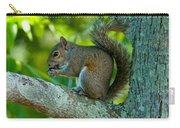Snacking Squirrel Carry-all Pouch