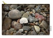 Snail Among The Rocks Carry-all Pouch