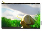Snail And Grass... Carry-all Pouch