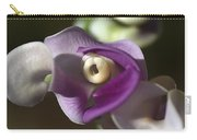 Snail Flower In The Spot Light Carry-all Pouch