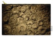 Snail Fossil Carry-all Pouch