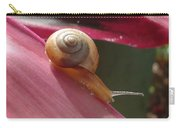 Snail In Motion Carry-all Pouch