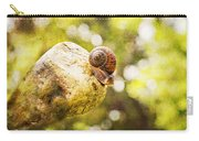 Snail Of A Time Carry-all Pouch