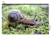 Snail On Billy Goat Trail Carry-all Pouch