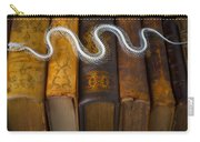 Snake And Antique Books Carry-all Pouch