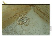 Snake In Ruins Carry-all Pouch