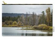 Snake River Near Cattleman's Bridge Site -  Grand Tetons Carry-all Pouch