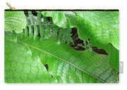 Snake Skin Plant Carry-all Pouch
