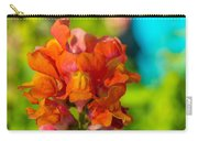 Snapdragon Flower Blurred Background Carry-all Pouch
