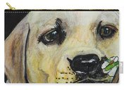 Sniff The Flowers Carry-all Pouch by Roger Wedegis