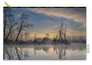 Dawn On The Snohomish Carry-all Pouch
