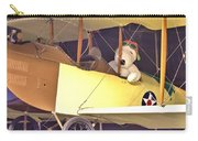 Snoopy In His Biplane Carry-all Pouch