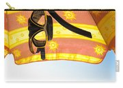 Snorkeling Glasses Carry-all Pouch by Carlos Caetano
