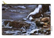 Snow And Ice Water And Rock Carry-all Pouch by Dale Kincaid