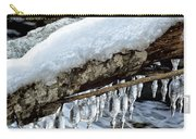 Snow And Icicles No. 1 Carry-all Pouch